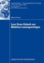 Loss Given Default von Mobilien-Leasingverträgen