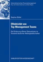 Effektivität von Top Management Teams