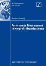 Performance Measurement in Nonprofit-Organisationen