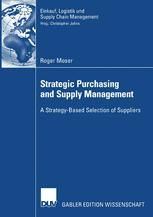 Strategic Purchasing and Supply Management