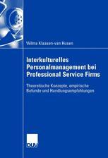 Interkulturelles Personalmanagement bei Professional Service Firms