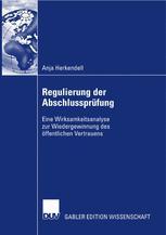 Regulierung der Abschlussprüfung