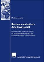 Ressourcenorientierte Arbeitswirtschaft
