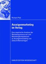 Anzeigenmarketing im Verlag