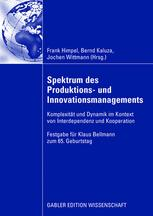 Spektrum des Produktions- und Innovationsmanagements