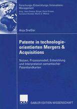 Patente in Technologie-Orientierten Mergers & Acquisitions