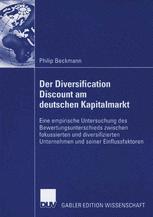 Der Diversification Discount am deutschen Kapitalmarkt
