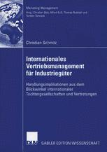 Internationales Vertriebsmanagement für Industriegüter