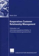 Kooperatives Customer Relationship Management