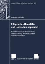 Integriertes Qualitäts- und Umweltmanagement