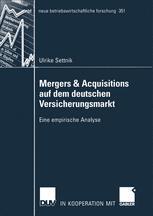 Mergers & Acquisitions auf dem deutschen Versicherungsmarkt