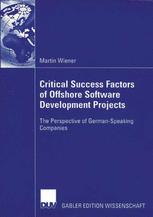 Critical Success Factors of Offshore Software Develpment Project