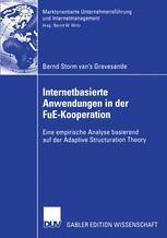 Internetbasierte Anwendungen in der FuE-Kooperation