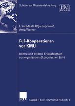FuE-Kooperationen von KMU