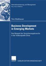 Business Development in Emerging Markets