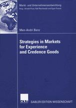 Strategies in Markets for Experience and Credence Goods
