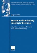 Konzept zur Entwicklung integrierter Beratung