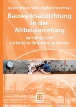 Bauwerksabdichtung in der Altbausanierung