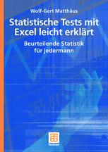 Statisische Tests mit Excel leicht erklärt