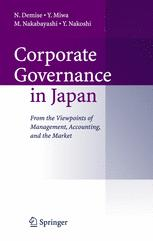 Corporate Governance in Japan