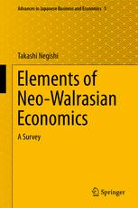 Elements of Neo-Walrasian Economics