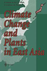 Climate Change and Plants in East Asia