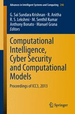 Computational Intelligence, Cyber Security and Computational Models