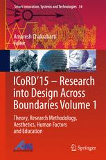 ICoRD'15 – Research into Design Across Boundaries Volume 1