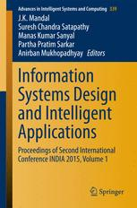 Information Systems Design and Intelligent Applications