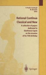 Rational Continua, Classical and New