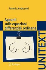 Appunti sulle equazioni differenziali ordinarie