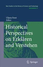 Historical Perspectives on Erklären and Verstehen