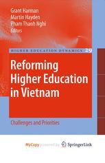 Reforming Higher Education in Vietnam