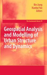 Geospatial Analysis and Modelling of Urban Structure and Dynamics