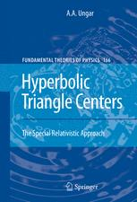 Hyperbolic Triangle Centers