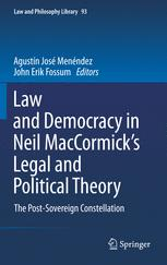 Law and Democracy in Neil MacCormick's Legal and Political Theory
