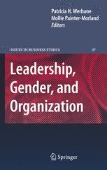Leadership, Gender, and Organization