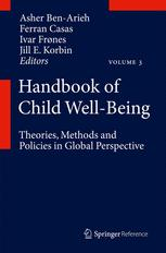 Handbook of Child Well-Being