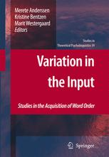 Variation in the Input