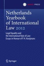 Netherlands Yearbook of International Law 2012
