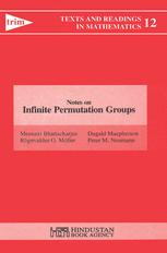 Notes on Infinite Permutation Groups