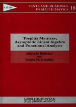 Toeplitz Matrices, Asymptotic Linear Algebra and Functional Analysis