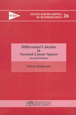 Differential Calculus in Normed Linear Spaces