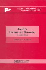 Jacobi's Lectures on Dynamics