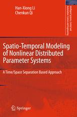 Spatio-Temporal Modeling of Nonlinear Distributed Parameter Systems