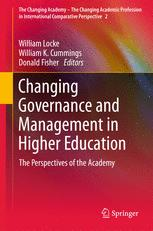 Changing Governance and Management in Higher Education