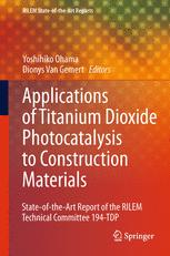 Applications of Titanium Dioxide Photocatalysis to Construction Materials