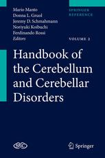 Handbook of the Cerebellum and Cerebellar Disorders