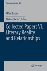 Collected Papers VI. Literary Reality and Relationships