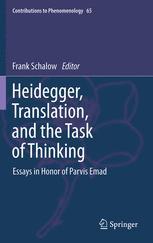 Heidegger, Translation, and the Task of Thinking